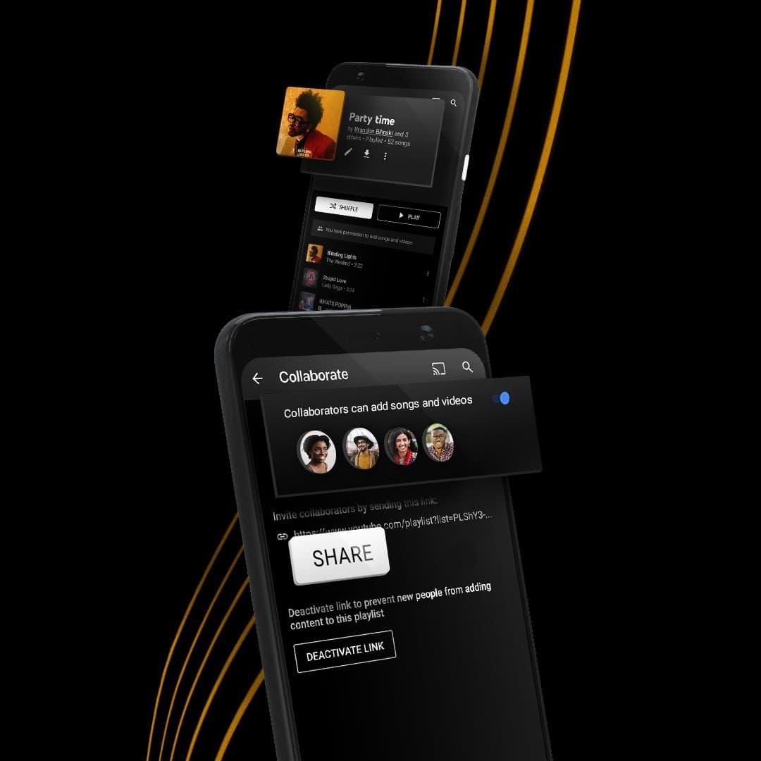 02 YTM PlaylistImprovements CollaborativePlaylists PR 1080x1080 NOTEXT