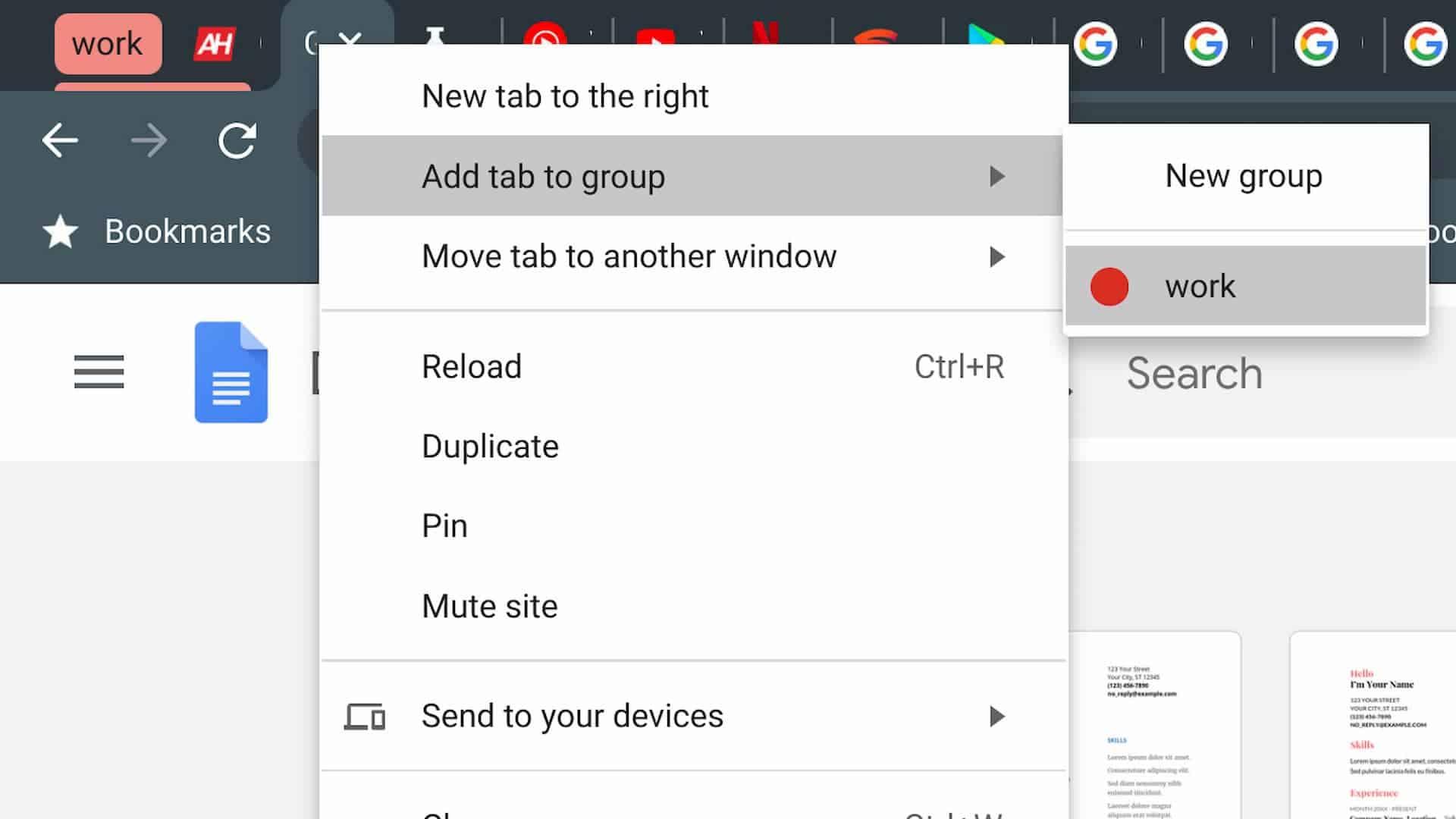 09 how tab groups chrome AH