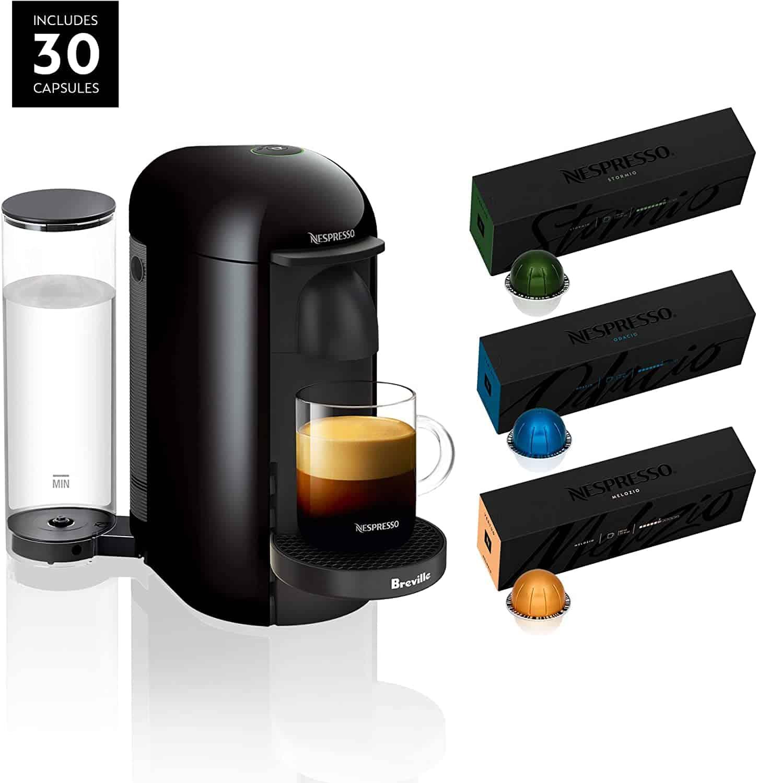 Skip Starbucks & Get The Nespresso VertuoPlus Coffee And