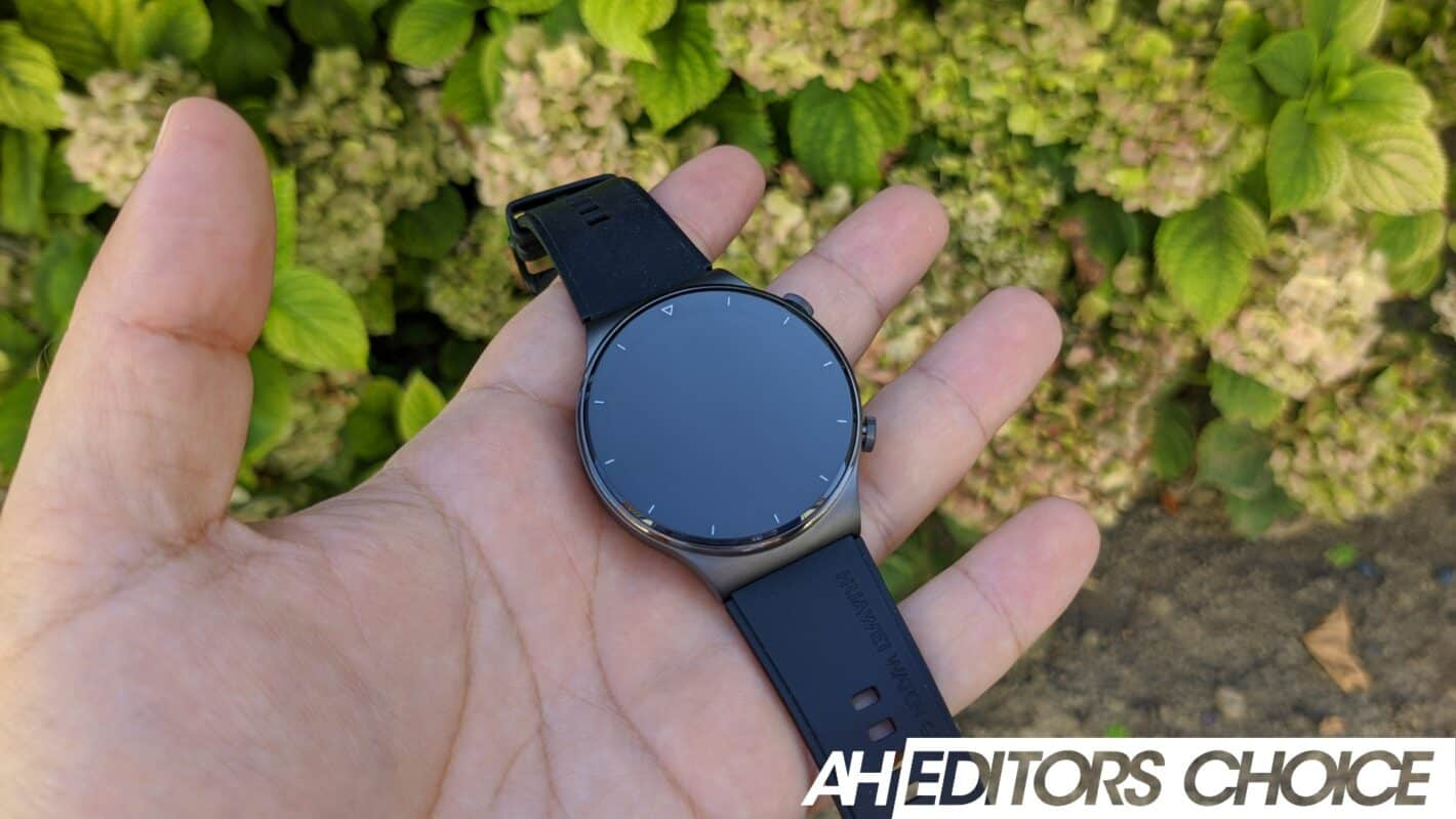 AH Huawei Watch GT 2 Pro review badge