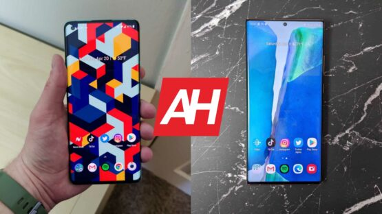 AH OnePlus 8 Pro vs Samsung Galaxy Note 20 Ultra comparison