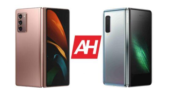 AH Samsung Galaxy Z Fold 2 vs Samsung Galaxy Fold comparison