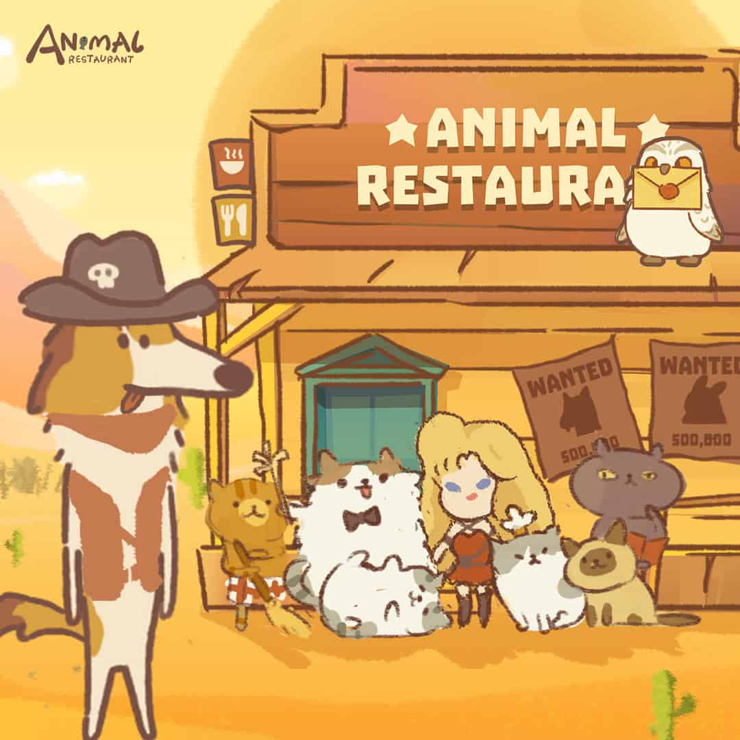 Animal Restaurant Is Getting A 7 Day Login Event Plus Aaron S Animals Anniversary Tie In