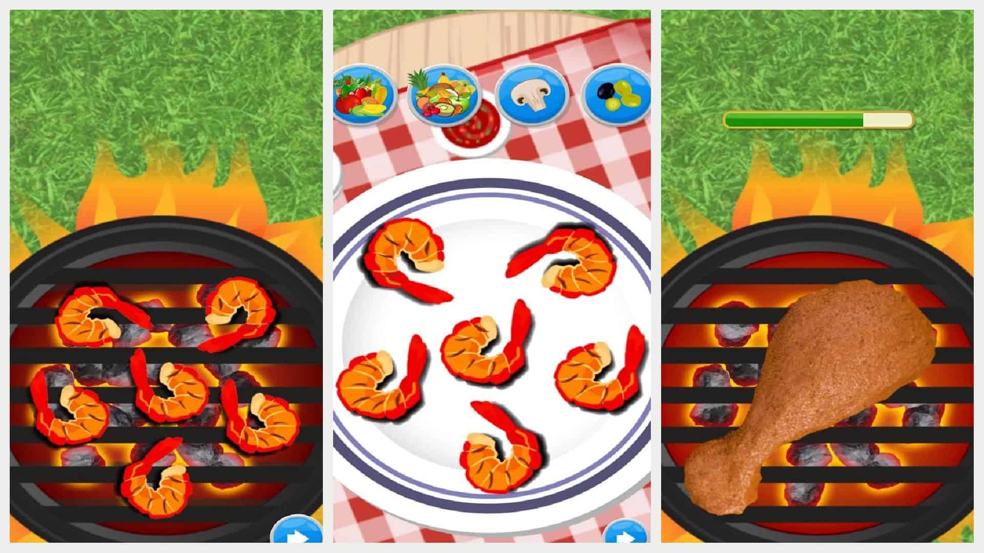 BBQ Restaurant Grill Maker app grid 1