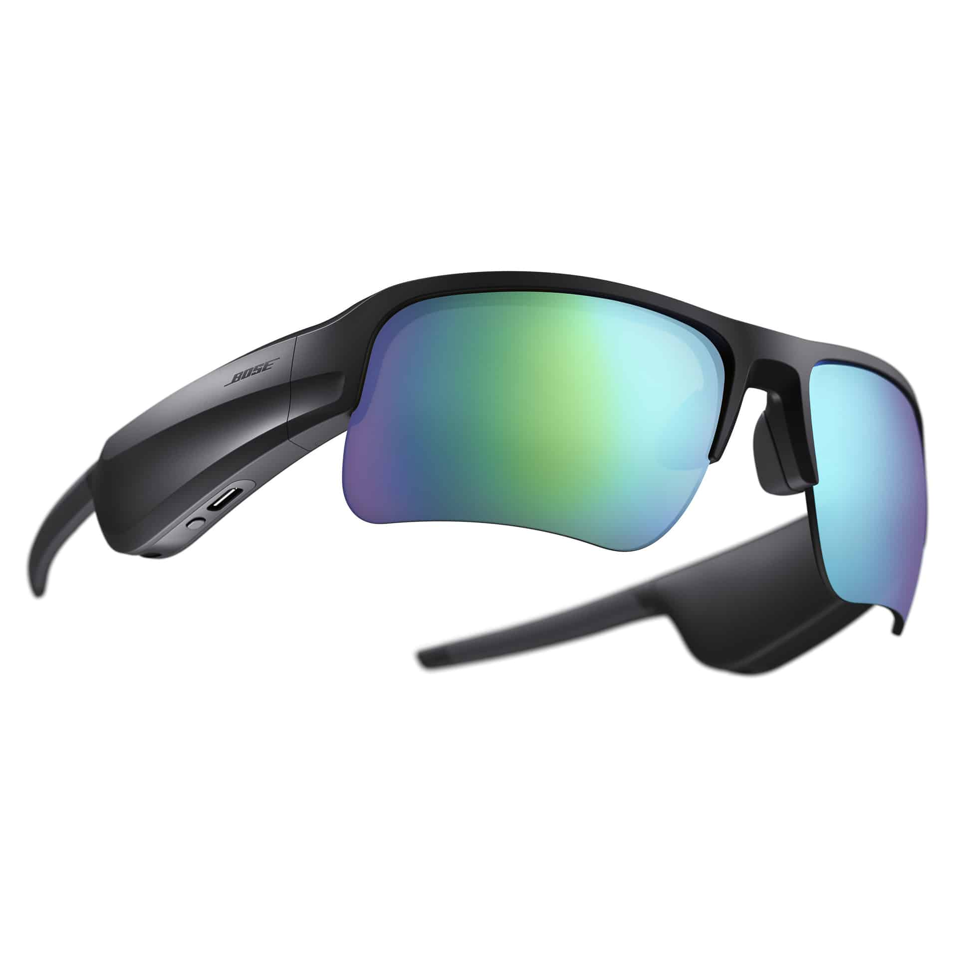 Bose Frames Tempo with Trail Blue Lenses