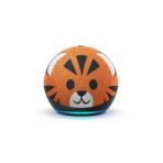 Echo Dot Kids Edition- Tiger- Front