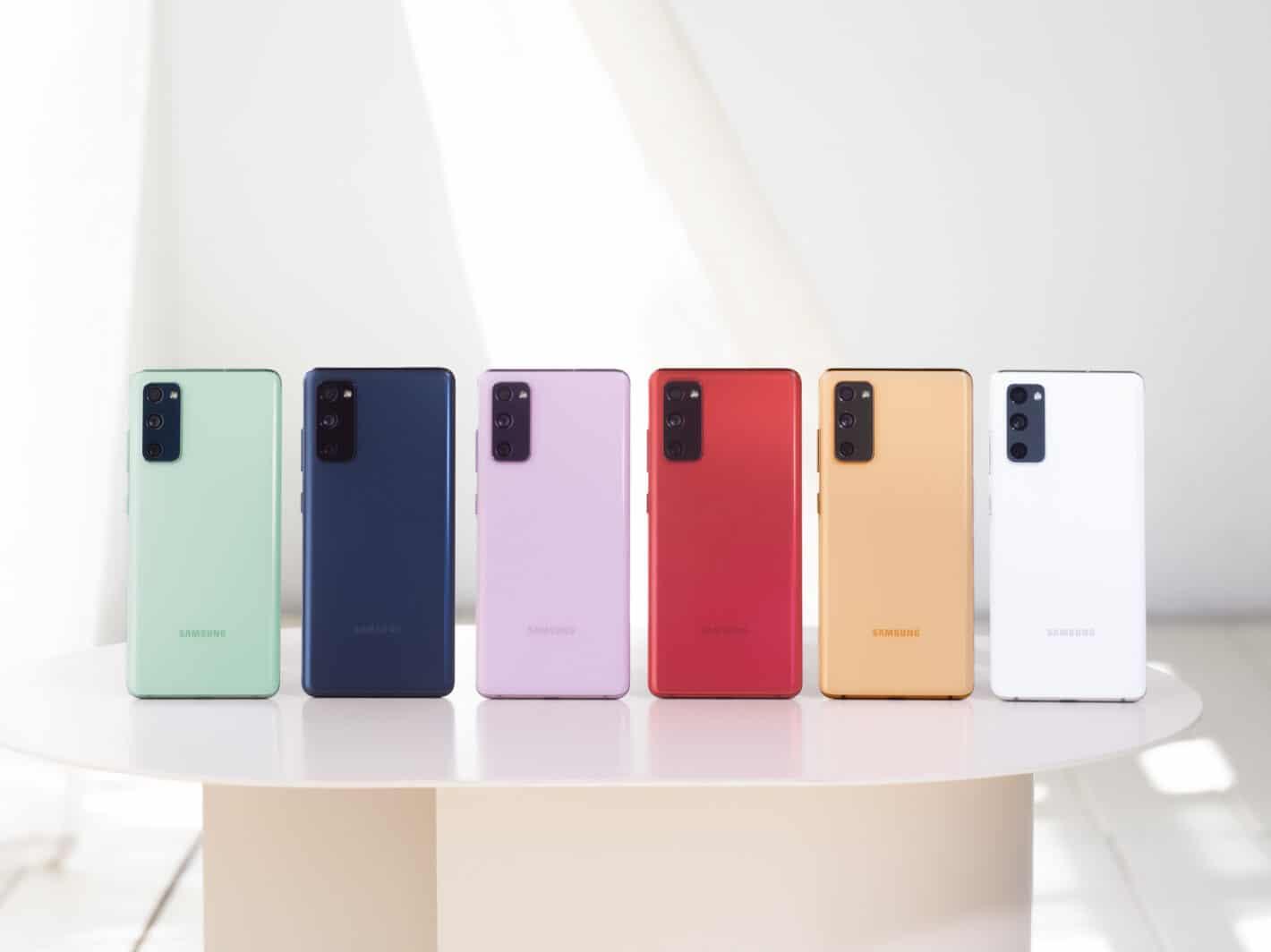 Galaxy S20 FE All Colors