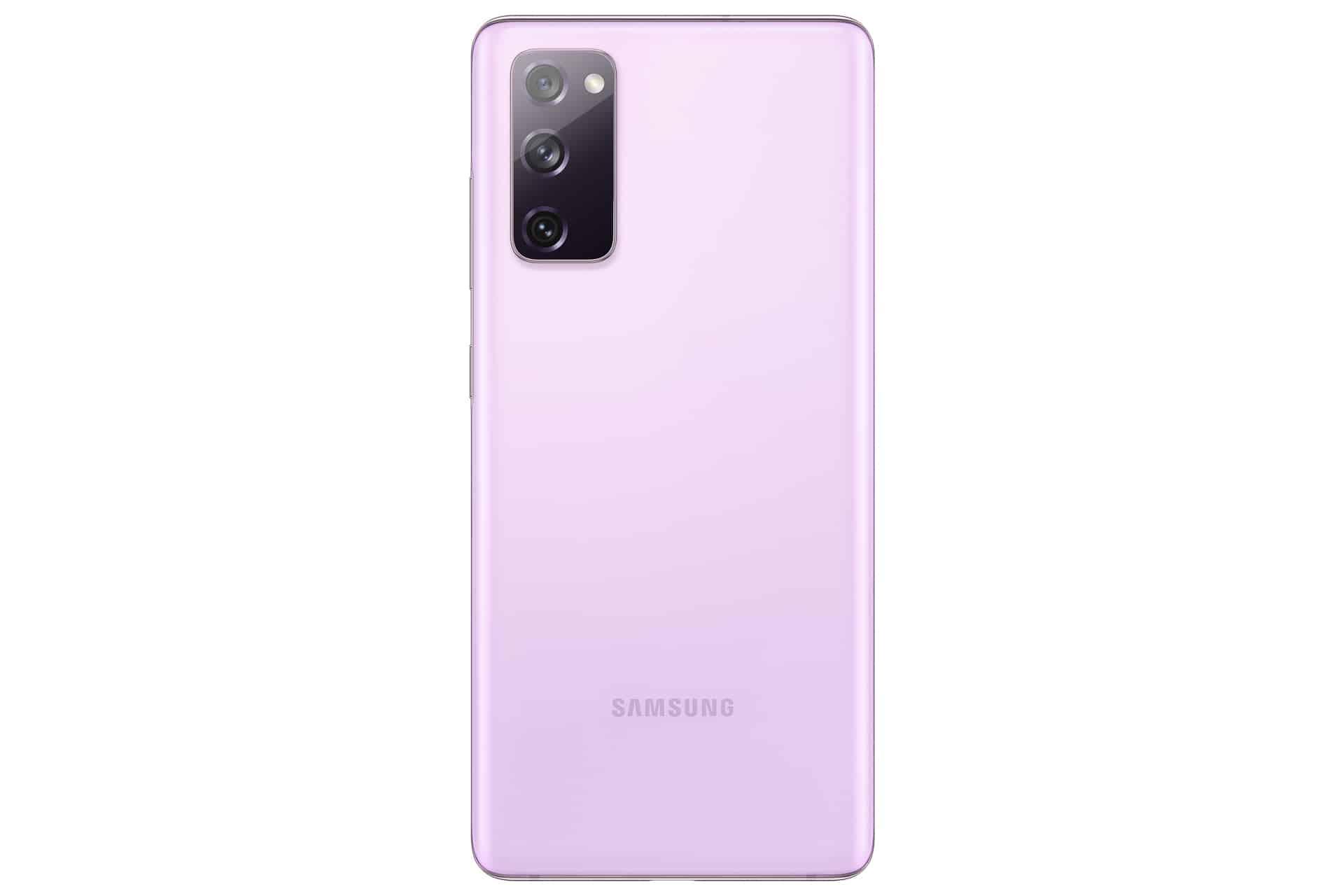 Galaxy S20 FE Cloud Lavender Back