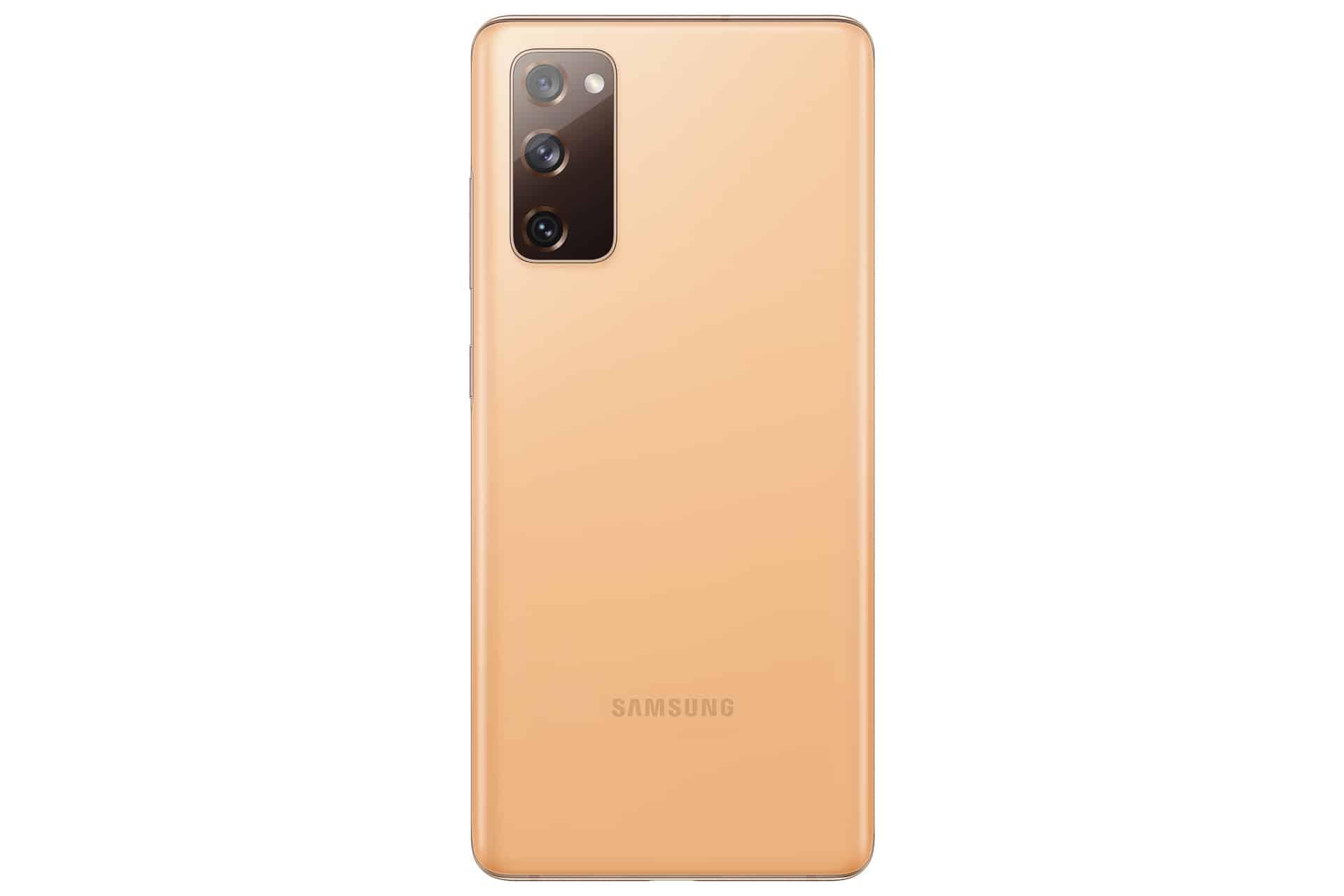 Galaxy S20 FE Cloud Orange Back