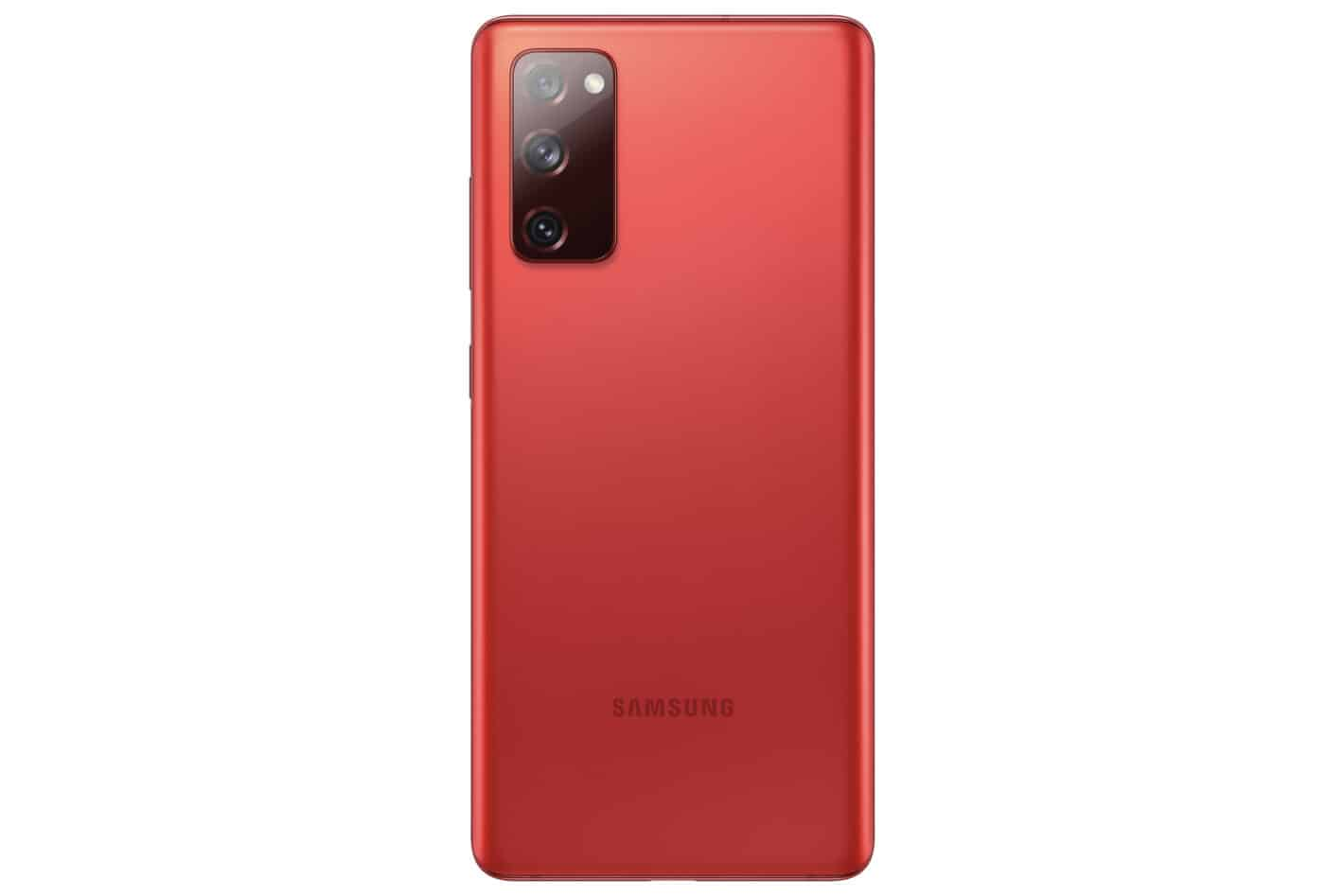 Galaxy S20 FE Cloud Red Back