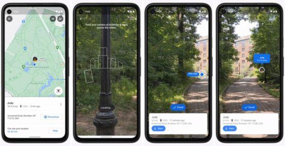 Google Maps Pixel Feature Drop Live View AR Google Maps