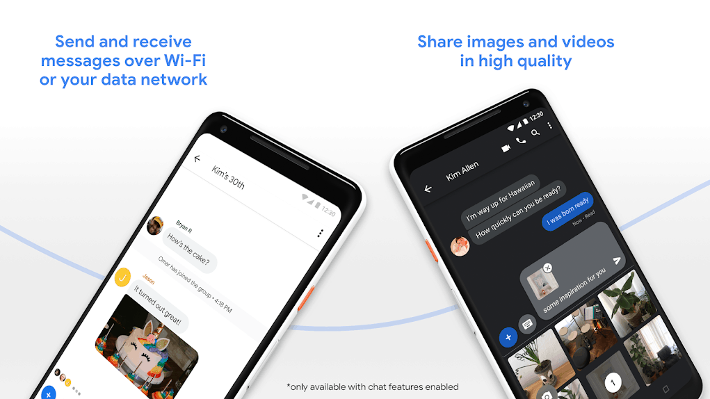 Google Messages app grid 1