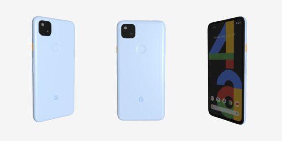 Google Pixel 4a blue featured