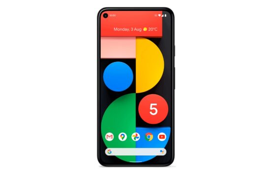 Google Pixel 5 leak front