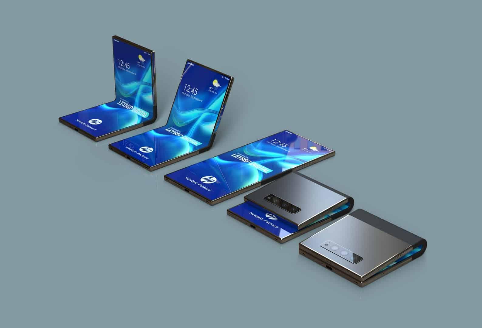 HP foldable smartphone patent design 3