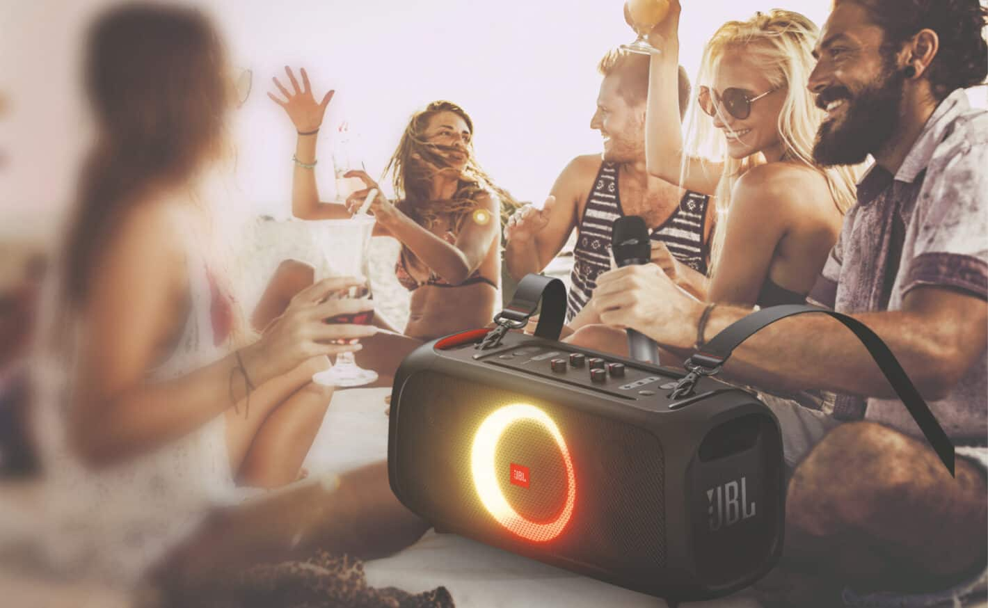 JBL PartyBox On The Go Speakers