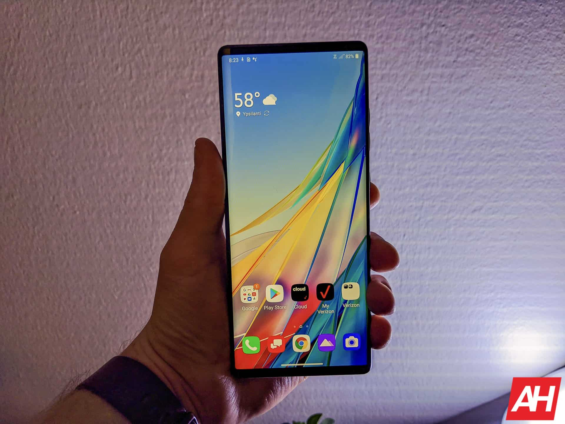 LG Wing Hands On AM AH 2 1