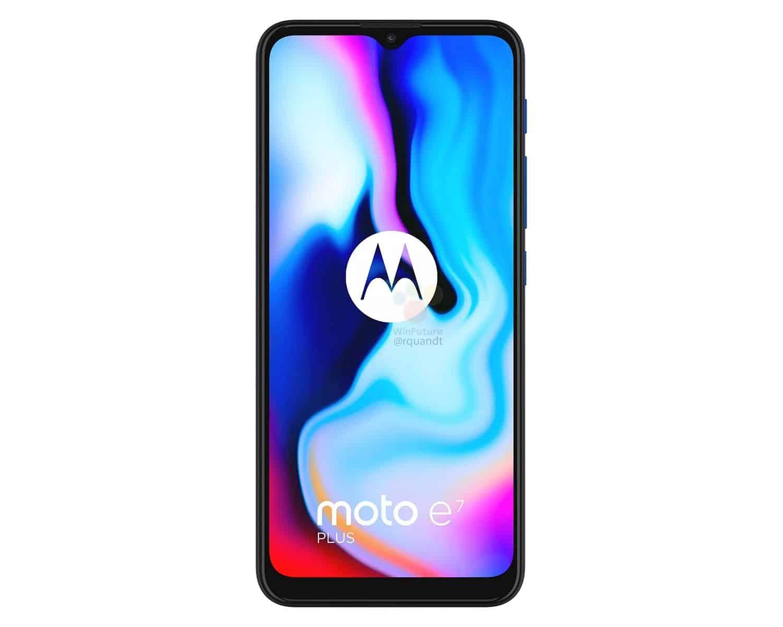 Motorola Moto E7 Plus winfuture 1