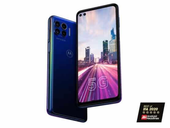 Motorola One 5G AH IFA 2020 Awards