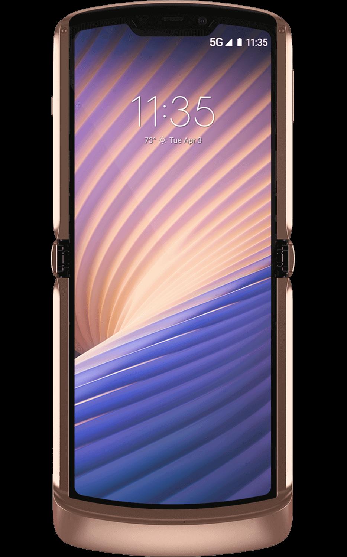 Motorola Razr 5G Blush Gold image leak 2