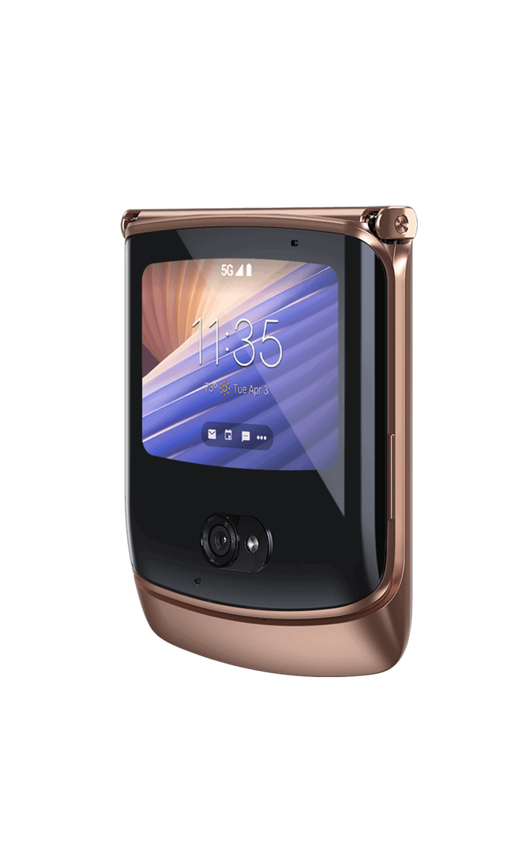 Motorola Razr 5G Blush Gold image leak 3