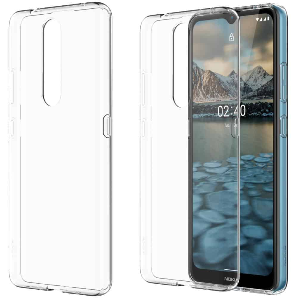 Nokia 2 4 Clear Case pressers