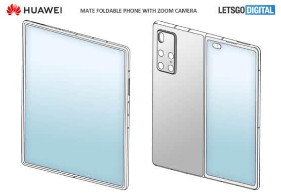 Possible Huawei Mate X2 design 1