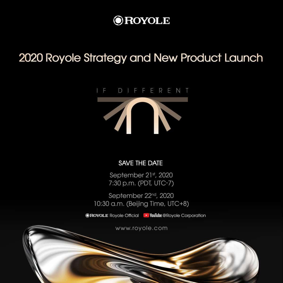 Royole FlexPai 2 event