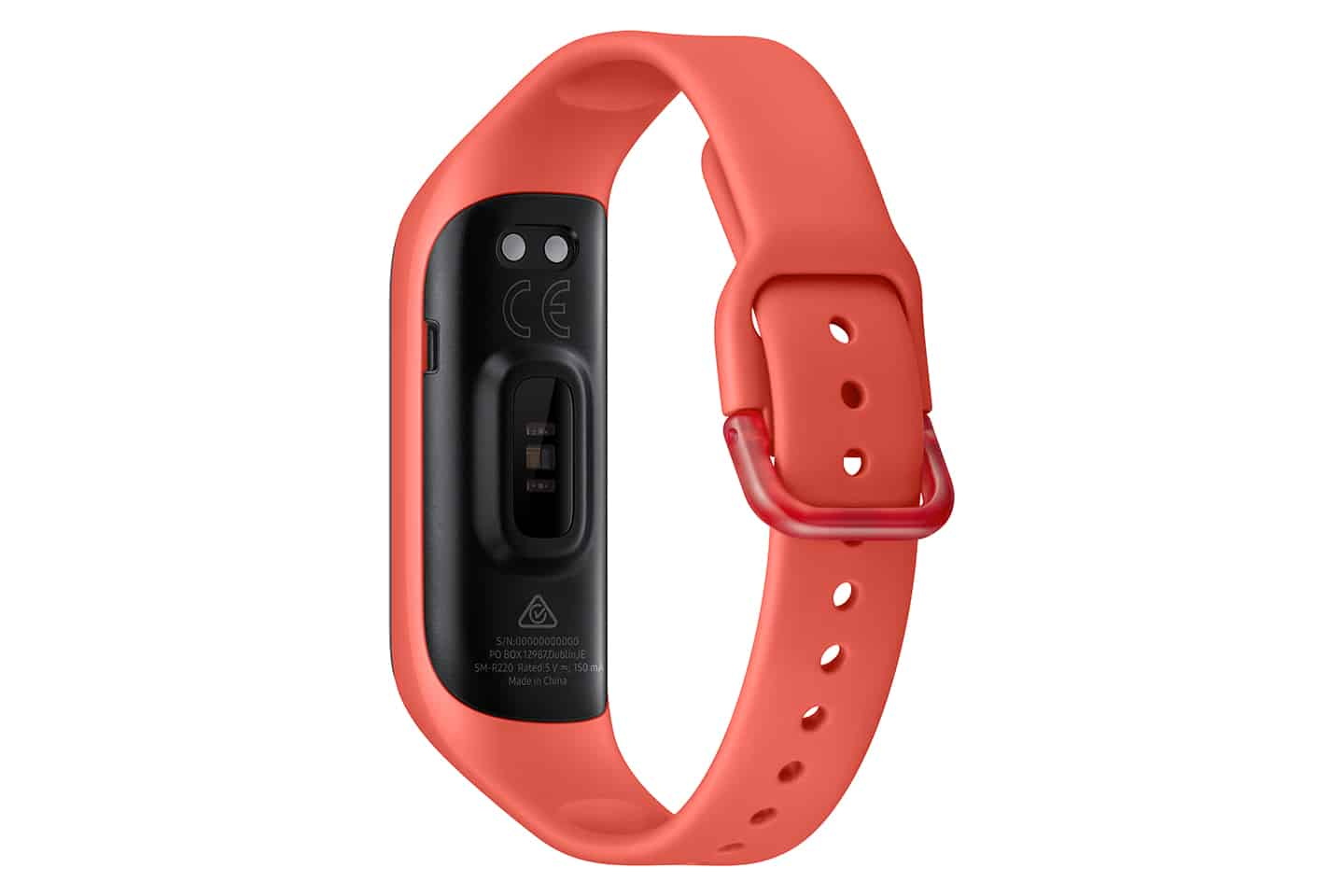 Samsung Galaxy Fit 2 Red back