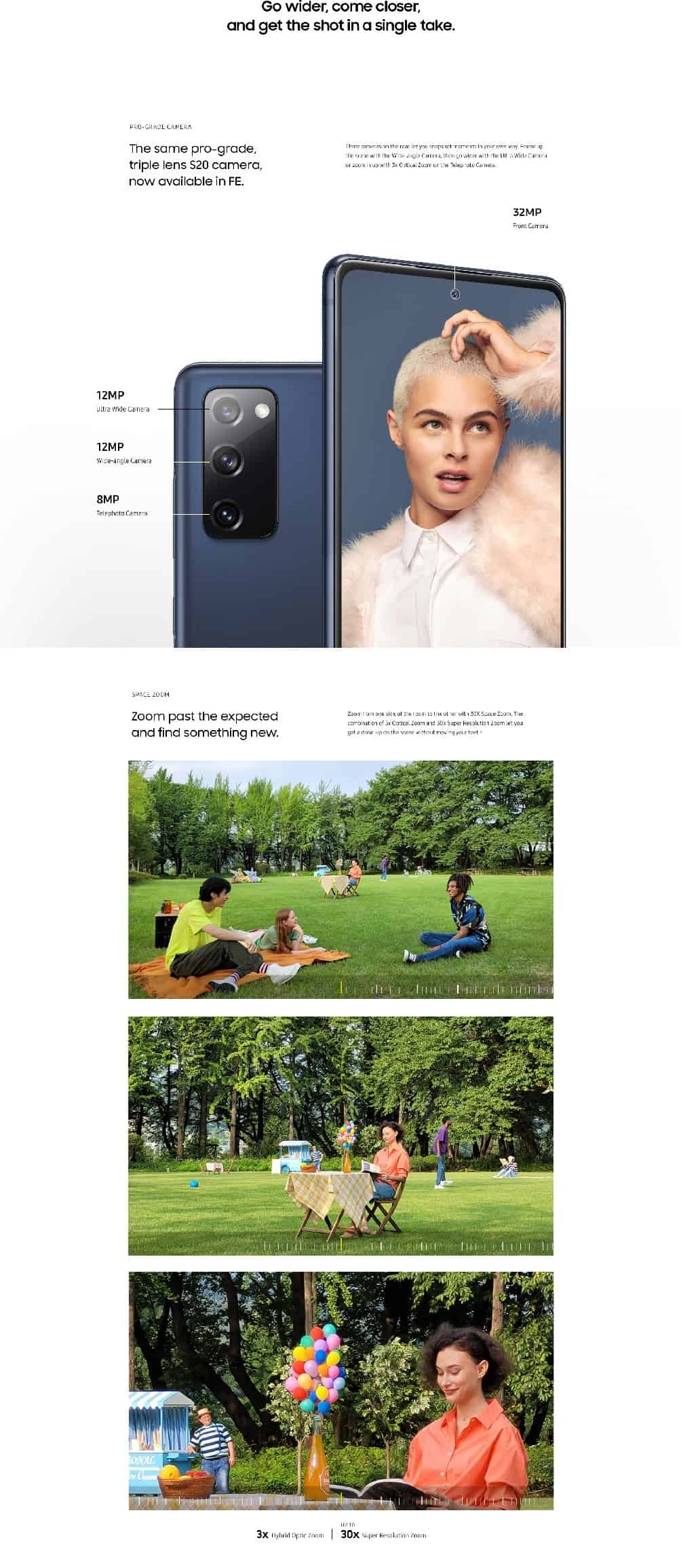 Samsung Galaxy S20 FE infographic leak 2