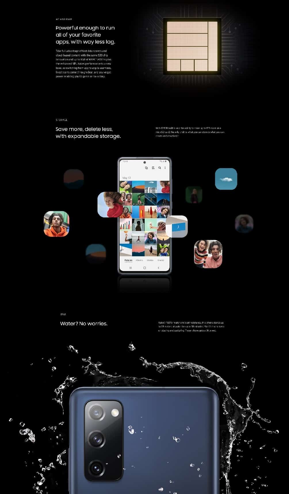 Samsung Galaxy S20 FE infographic leak 6