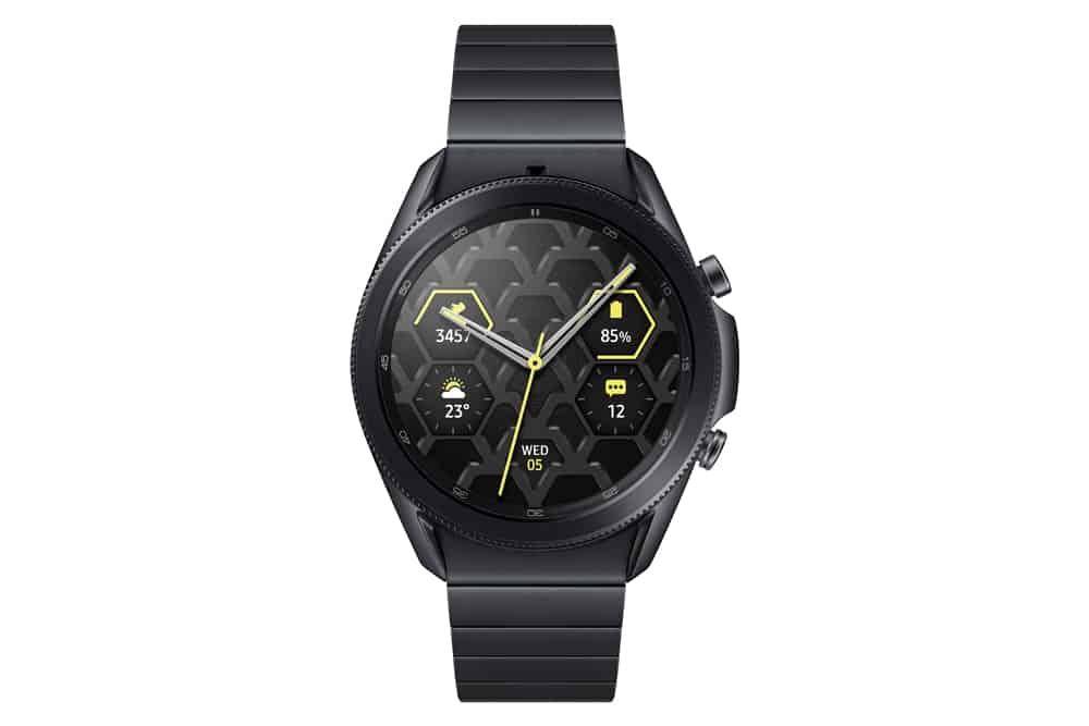 Samsung Galaxy Watch 3 titanium 1