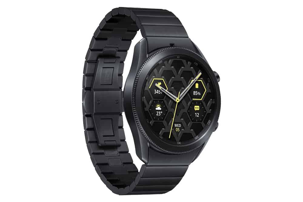 Samsung Galaxy Watch 3 titanium 3