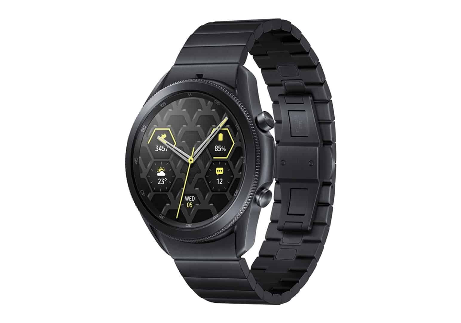 Samsung Galaxy Watch 3 titanium featured