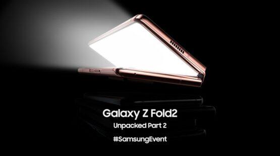 Samsung Galaxy Z Fold 2 event