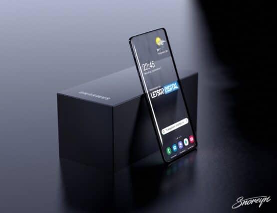 Samsung transparent smartphone Letsgodigital image 2