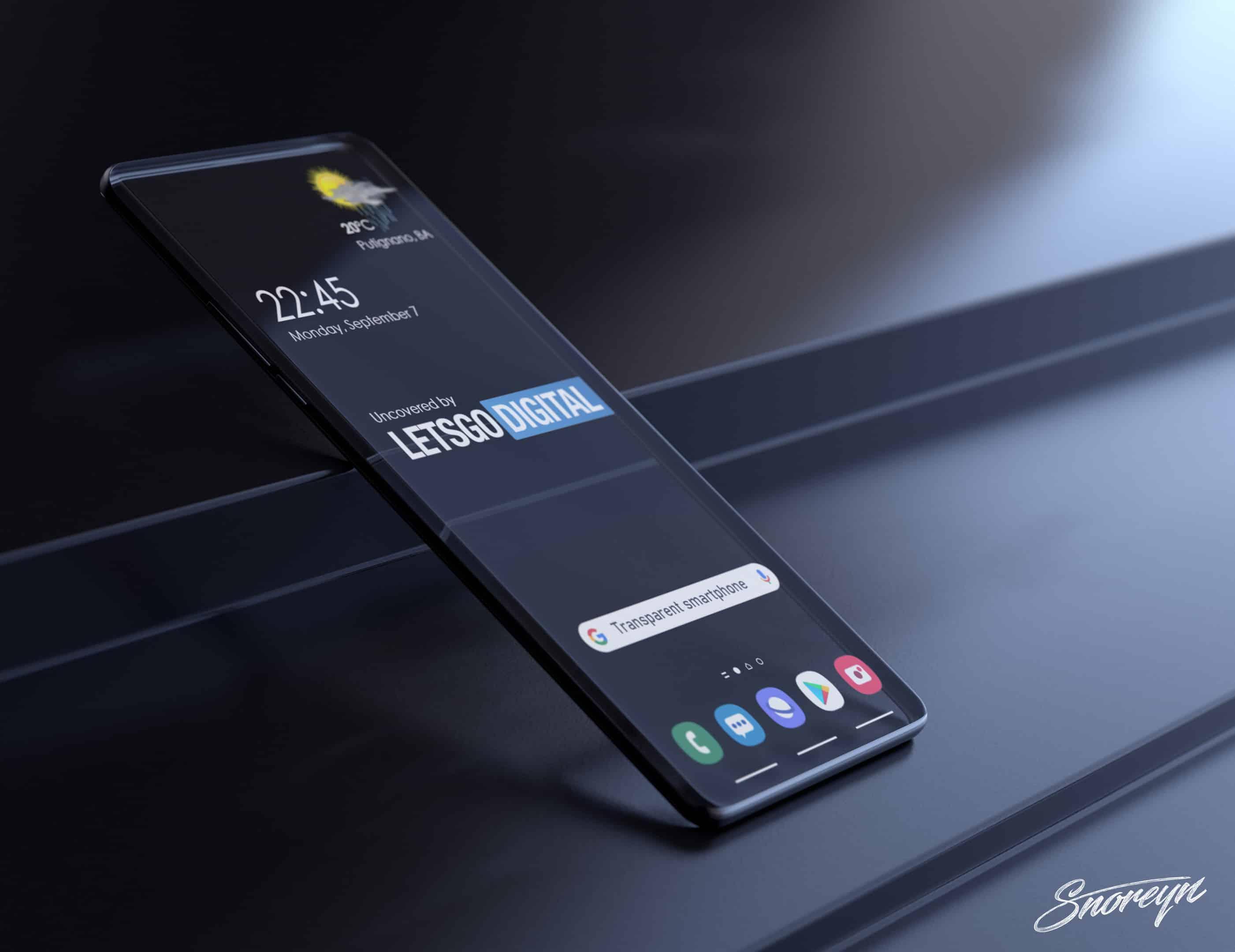 Samsung transparent smartphone Letsgodigital image 5