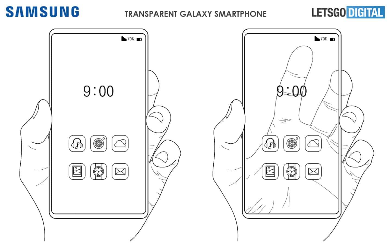 Samsung transparent smartphone Letsgodigital image 6