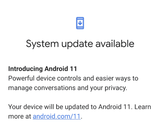 android 11 ota