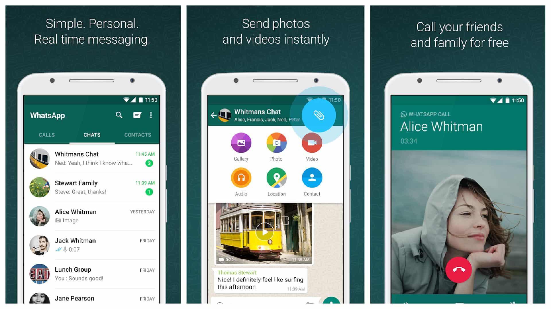 WhatsApp app grid 1