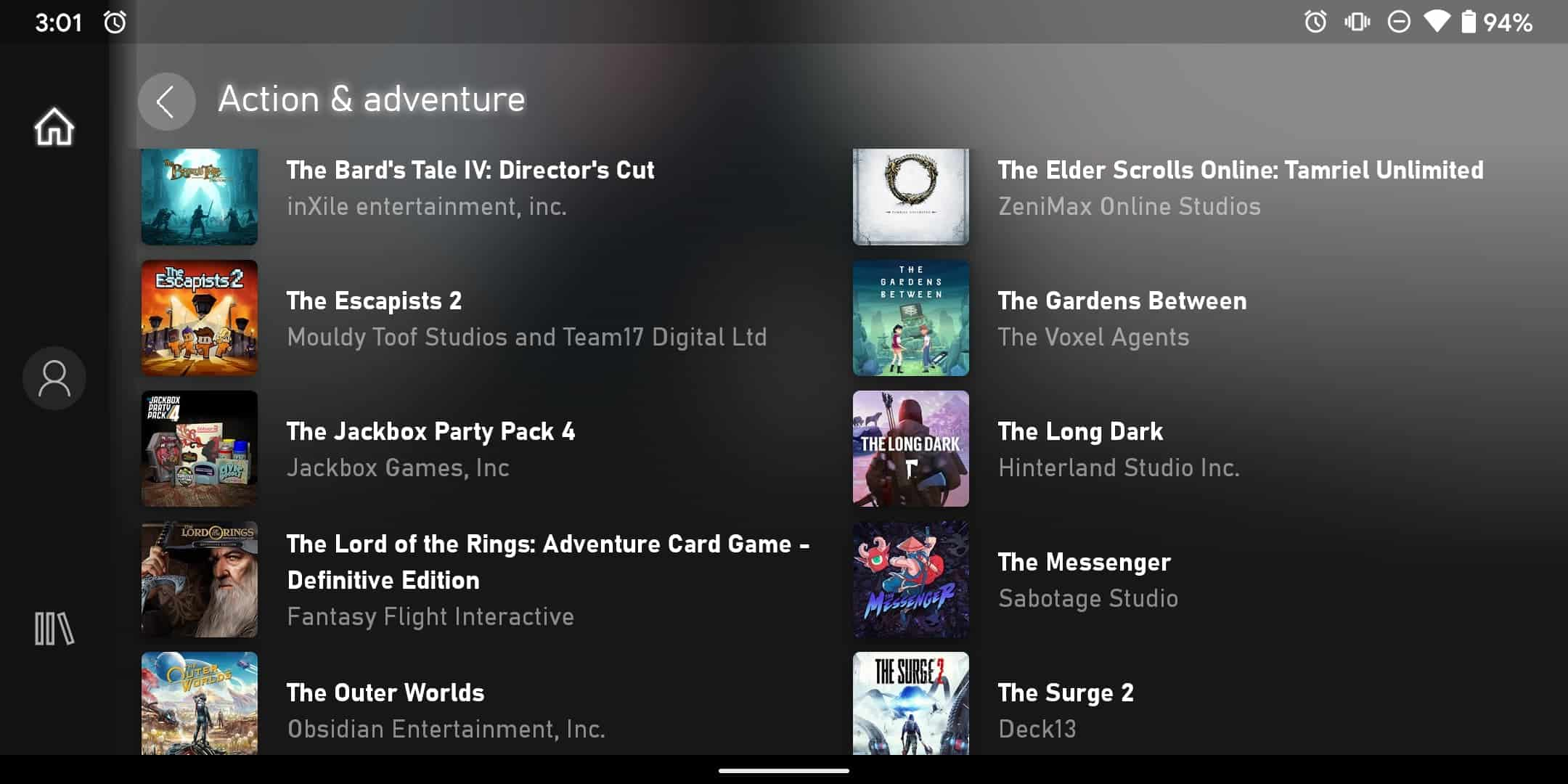 Xbox Game Pass Ultimate on Android 15