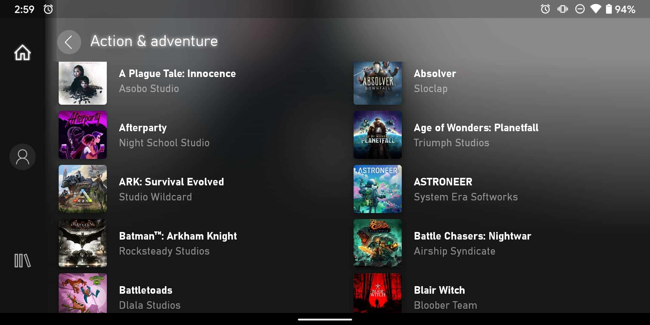 Xbox Game Pass Ultimate on Android 5