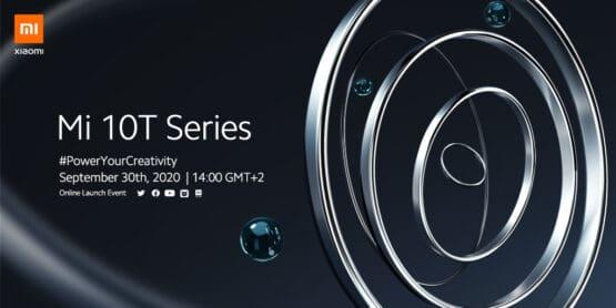 Xiaomi Mi 10T launch event
