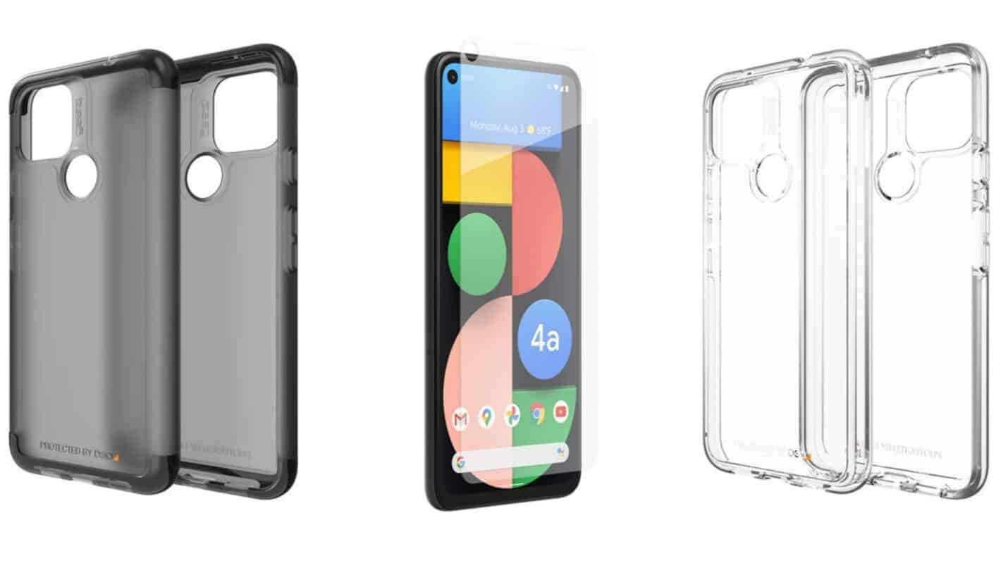ZAGG Brands Screen Protector Cases Pixel 4a 5G 5
