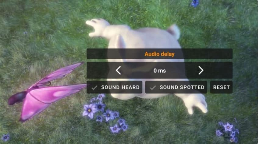 audio video sync vlc