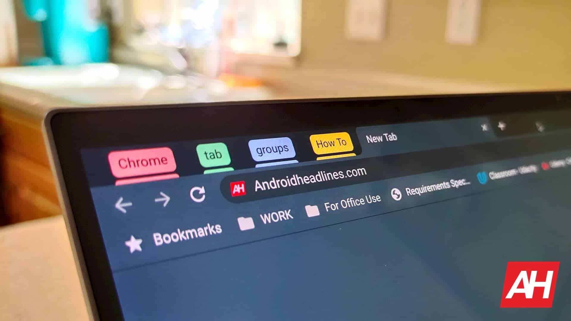 Google wants to add a More menu for sharing via the omnibox Chrome