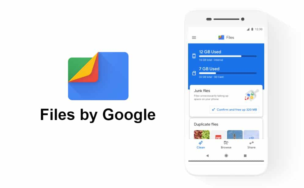 files by google update