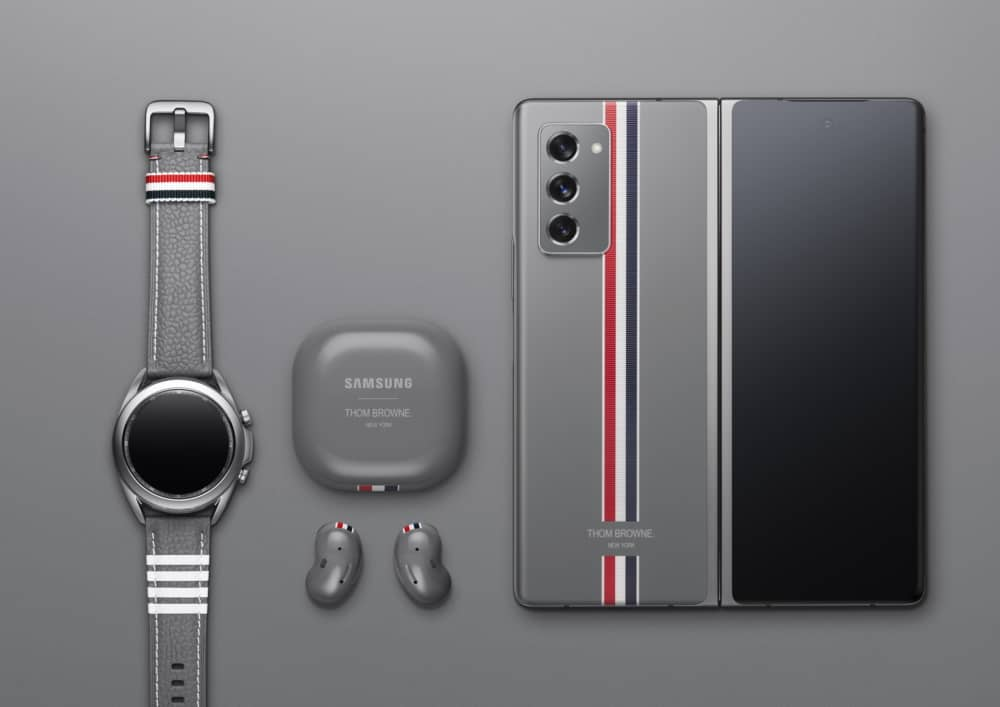 Samsung Galaxy Z Fold 2 Thom Browne Edition Surfaces In A Video
