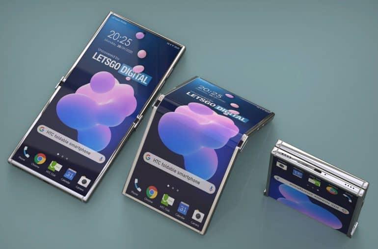 htc foldable smartphone patent