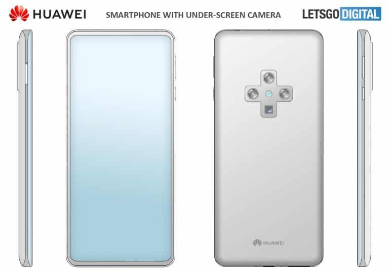 huawei smartphone cross shaped camera 1